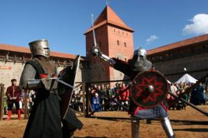 Lida Castle knights tournament 1