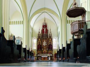 Gervyaty Cathedral interior